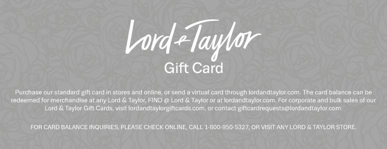 Hotel.com/Lord & Taylor Gift Card八折- PointAdvisor